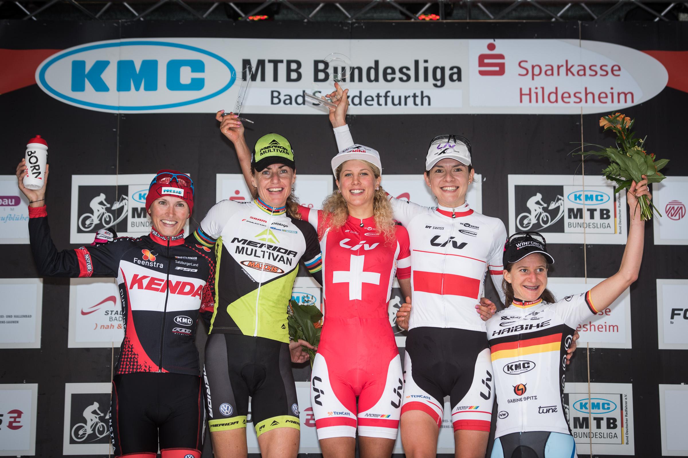 BL-Finale 2014 Podium Damen Elite