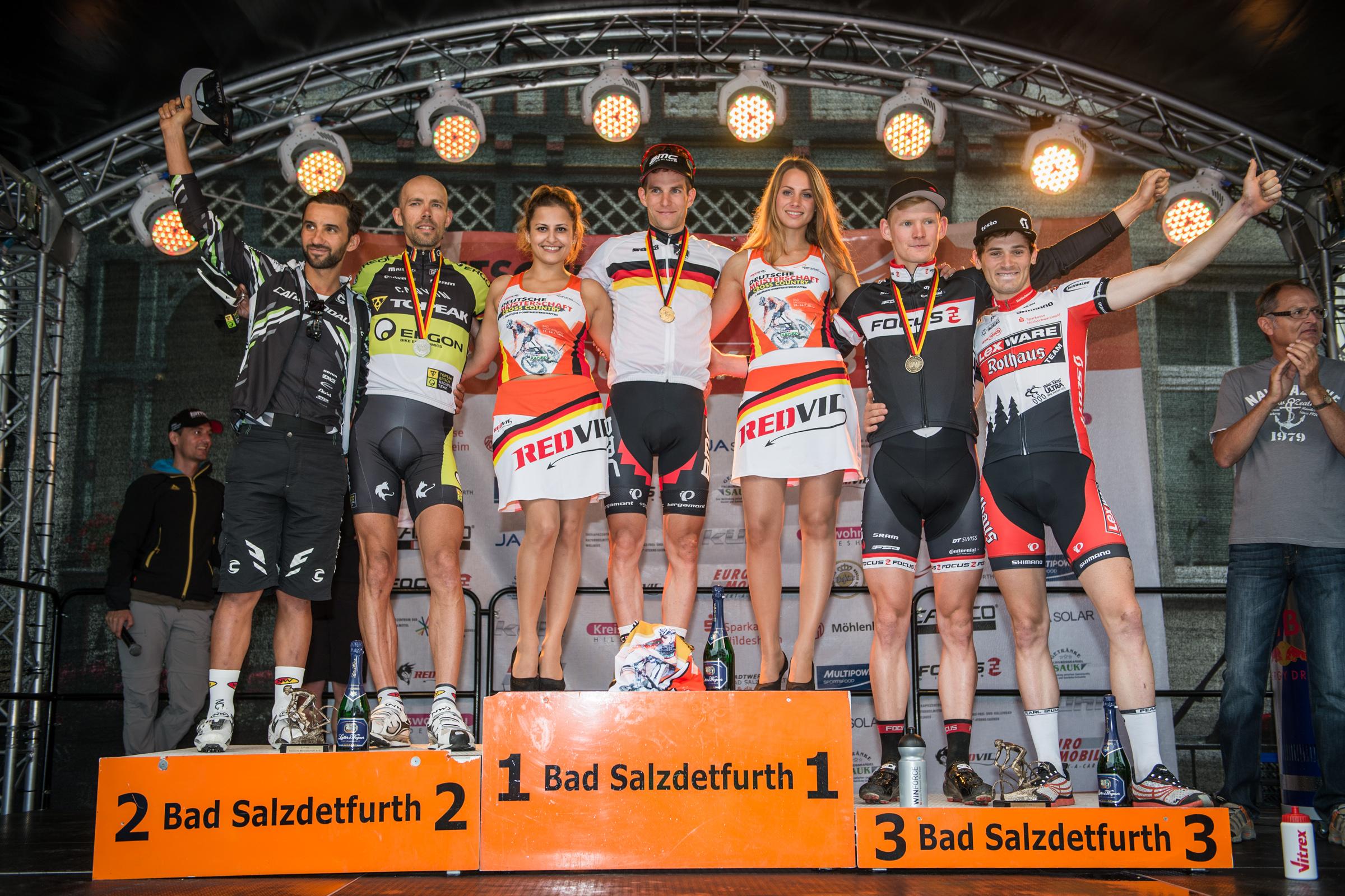 DM 2013 - Herren Elite Siegerehrung Top 5
