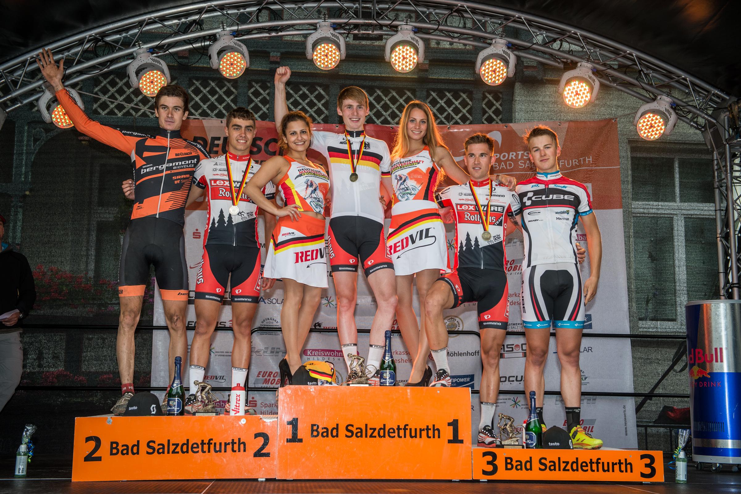 DM 2013 - Herren U23 Siegerehrung Top5